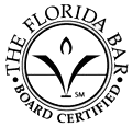 The Florida Bar Board Certified logo